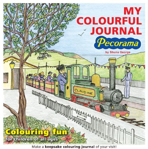 SG-1 Peco My Colourful Journal - Colouring Fun